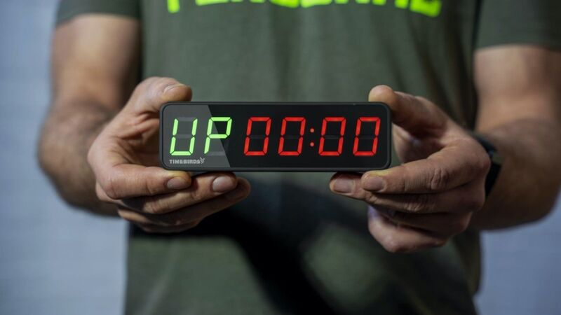 The 'Timebirds' Portable Workout Timer