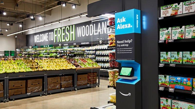 The Amazon Fresh Grocery Store with Alexa