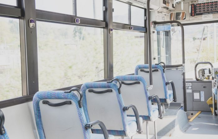 Self-driving buses being tested across Japan let you pay with your face