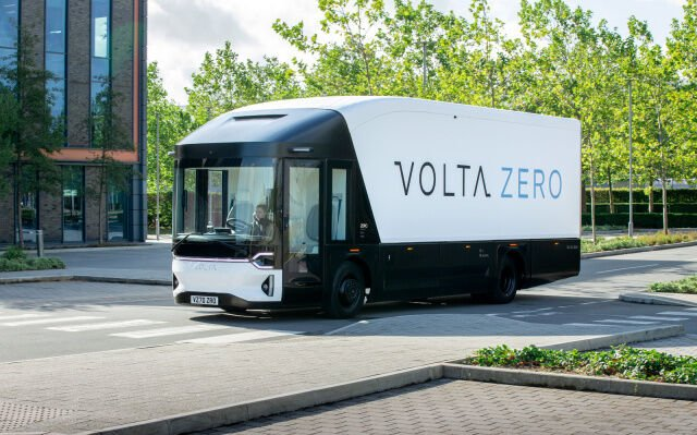 Electrically-Powered Delivery Trucks
