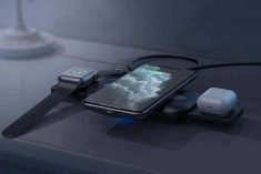 The Nalwort 3-in-1 Portable Wireless Charging Station