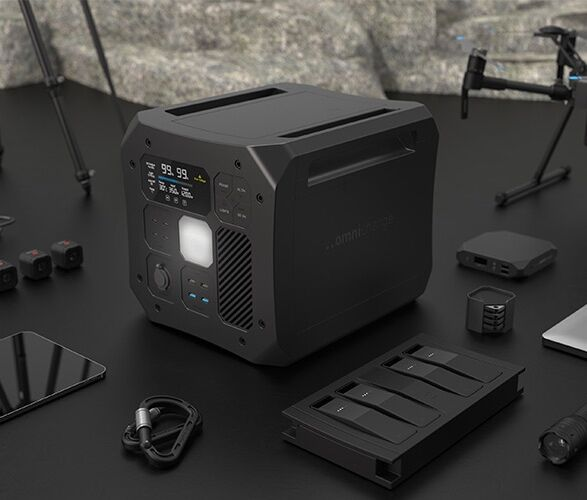 The Omnicharge Omni Off-Grid Portable Power Station