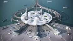A floating spaceport could bring space travel to Japan