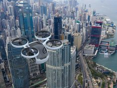 The 'KITE' Drone Offers Space for Four Passengers