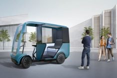 The EAV Taxi Gets Passengers Around in an Emissions-Free Manner