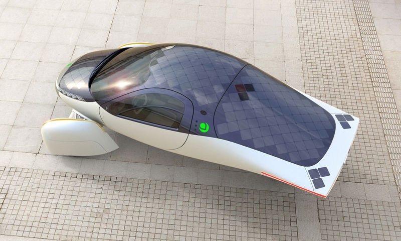 This Solar-Powered Electric Vehicle from Aptera is Speedy and Efficient