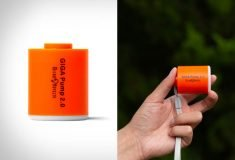 A Palm-Sized Powered Air Pump