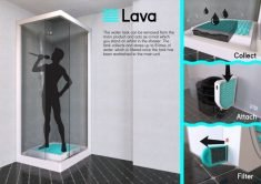 The 'Lava Aqua X' Washing Machine Uses Gray Water to Clean
