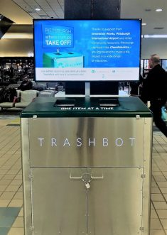 Robotic Trash Bins