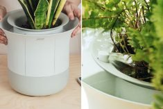 The 'Wazai' Planter Keeps Greenery Cared for in an Automated Manner