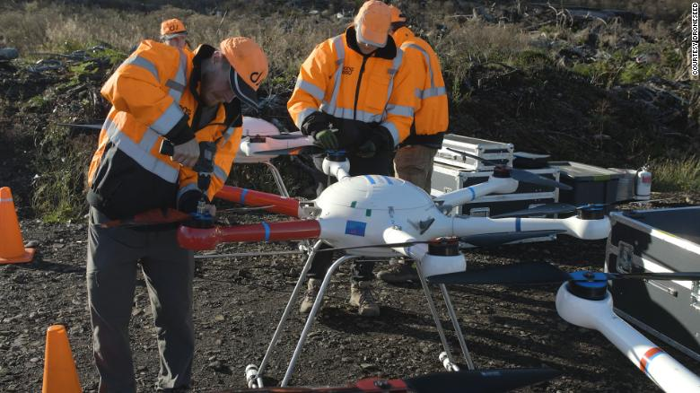 Using drones to replant forests