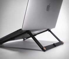 The 'Mantiz' Folding Pocket Laptop Stand
