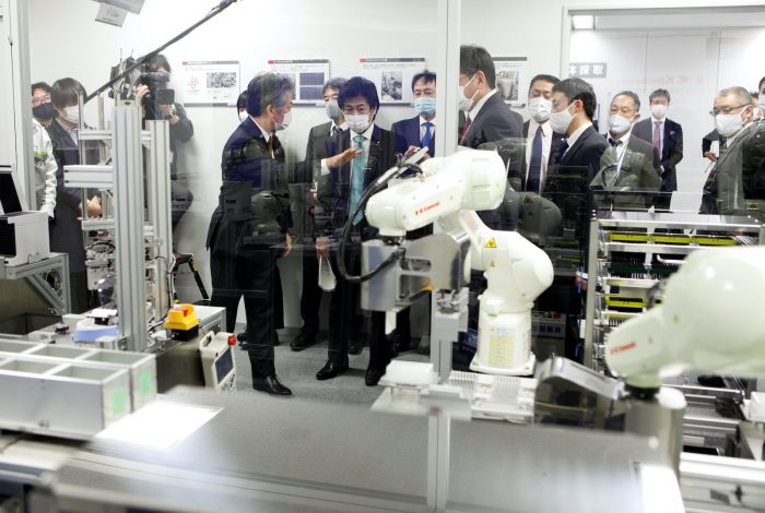 Japan eyes use of robots to boost COVID-19 testing