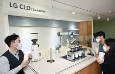 LG Electronics rolls out robot barista