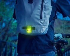 This Nite Ize Flashing LED Marker Keeps Wearers Visible After Dark