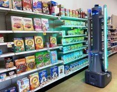 The Badger UV Disinfect Robot Boosts Store Cleanliness