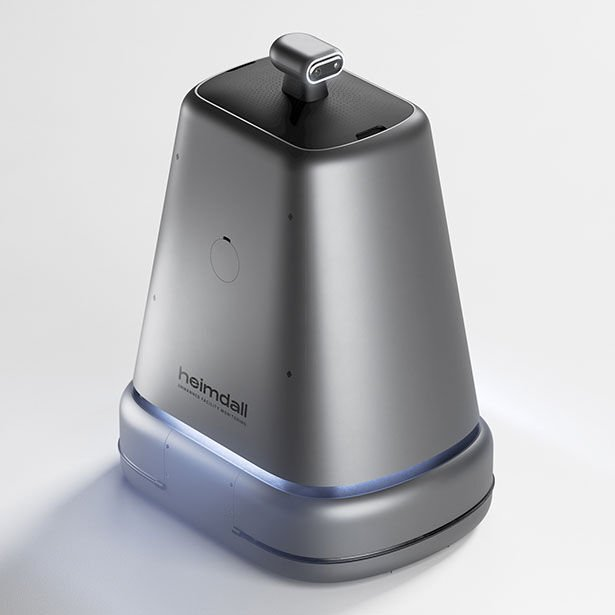 The 'Heimdall' Automated Facility Robot Monitors for Irregularities