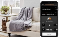 The Eddie Bauer Smart Electric Throw