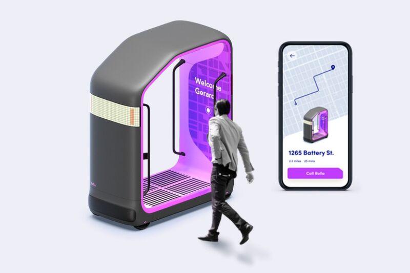 The 'Rolla' Autonomous Transportation Pods