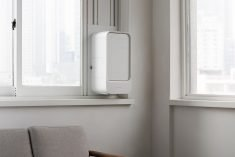 The Ventus Air Air Purifier Draws in Fresh Air from Outside
