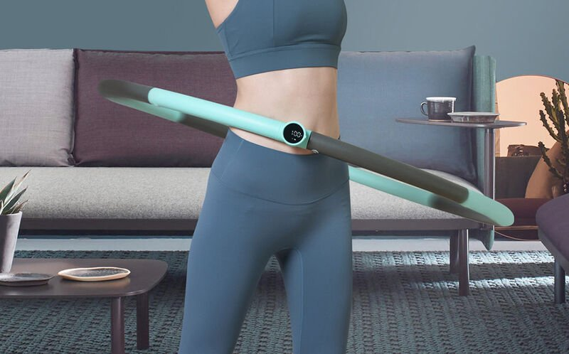 This Weighted Hoola Hoop Will Increases Your Workout Efficiency
