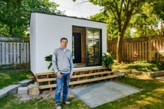 A Green Prefabricated Modular Home Office