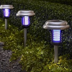 The Solar Insect Zapper Accent Lights