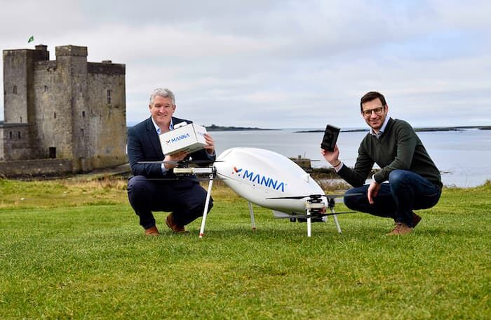 Samsung Has Partnered with Manna Drone Delivery to Ship Devices