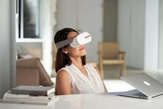 The Aurai Vision Plus and Rio Plus Eye Massager Mask