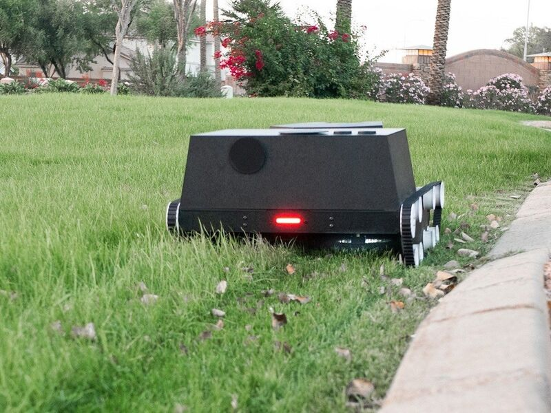 The Yardroid Landscaping Robot Autonomously Manages Gardens