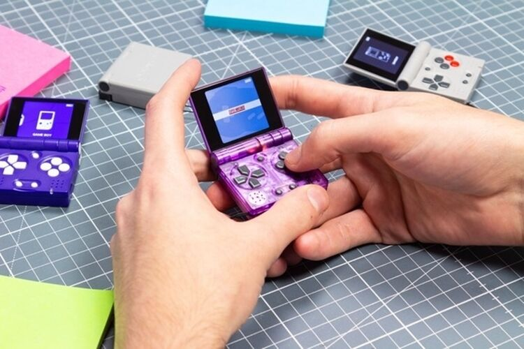 The FunKey S Keychain Game Console