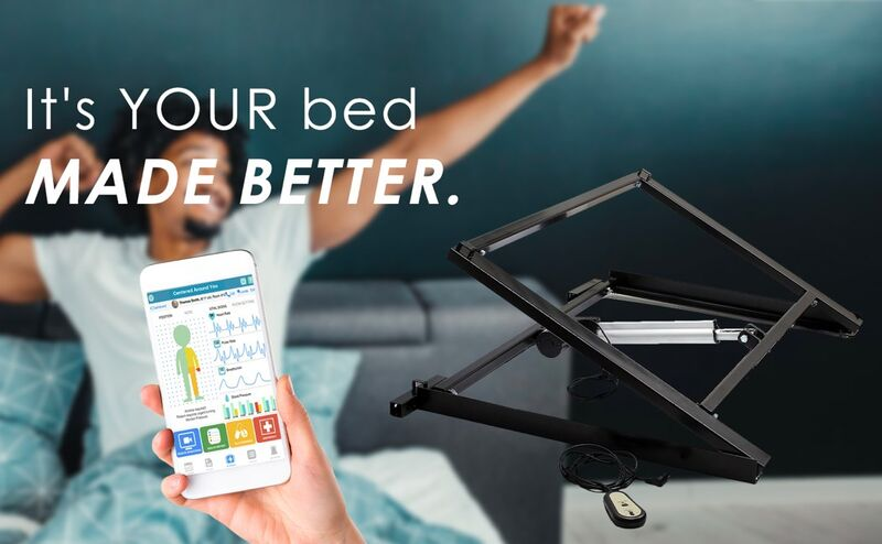 The 'BheemUP' Bed Incliner Makes Any Mattress Smarter