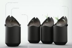 The Conceptual 'Loop' Smart Planting System