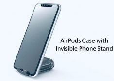 The 'AirStand' Works with the AirPods