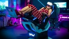 The 'Yaw2' Motion Simulator Smart Chair