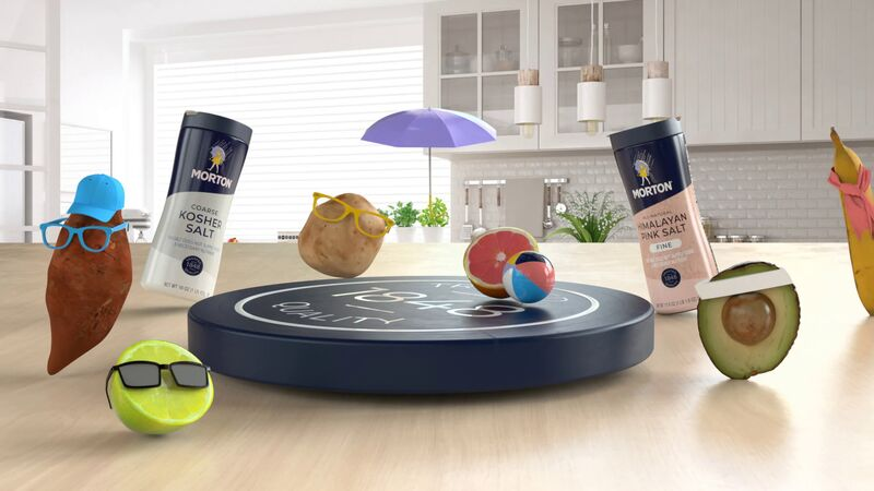 Morton Salt's AR App Provides a Creative Solution to Reducing Kitchen Waste