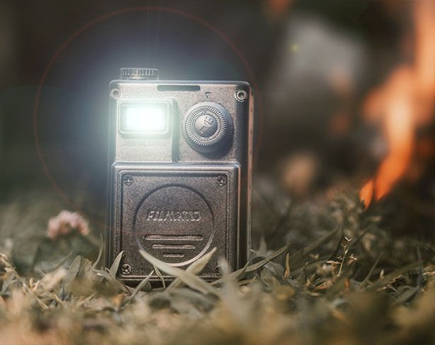 A Rugged Miniature Outdoor Projector