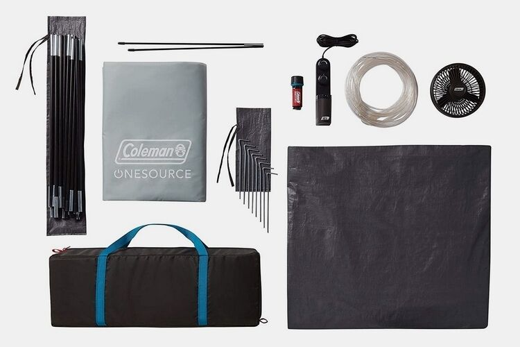 The Coleman OneSource Rechargeable Camping Dome Tent