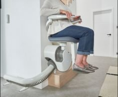 Flow X is an Accessible Stairlift