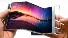 Fold it twice: Samsung unveils double-bending panel for smartphones