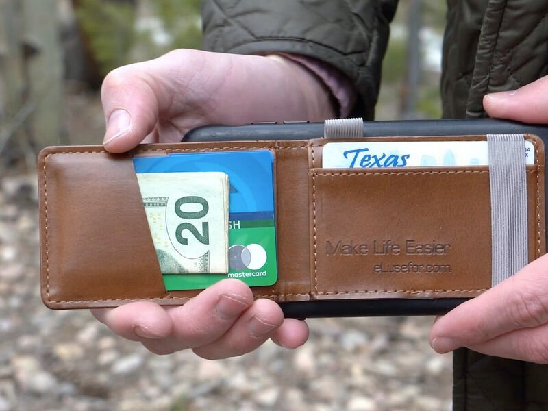 The eLusefor Liam Phone Wallet