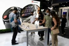 Pandemic lifts sales of wearable gadgets
