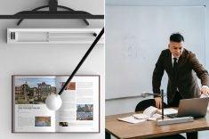 The Conceptual 'Visual Presenter' Projector
