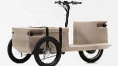 ZUV is an Electric Tricycle Created from 3D-Printed Plastic Waste
