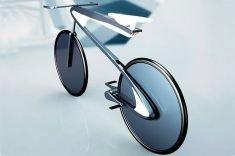 This Aerodynamic E-bike