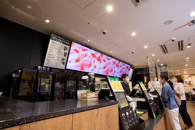 Coming soon to Japan's FamilyMart convenience stores: A whole lot of digital signage