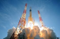 Microwave-powered rocket propulsion proposed by Japan
