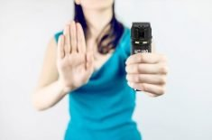 The TM100 Smart Pepper Spray Captures Footage of Assailants