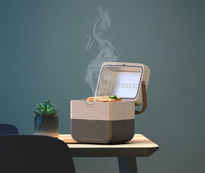 A Self-Contained Portable Meal Heater