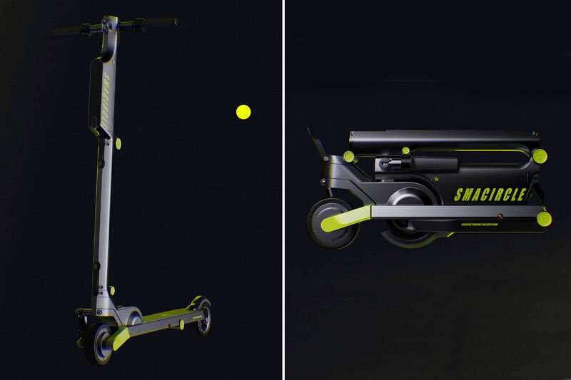 The 'Smacircle' Electric Kick Scooter